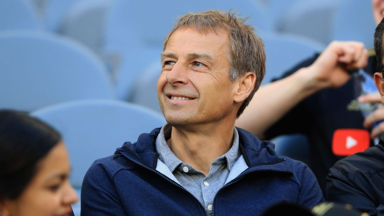 Jurgen Klinsmann was sacked as U.S. coach in November 2016.
