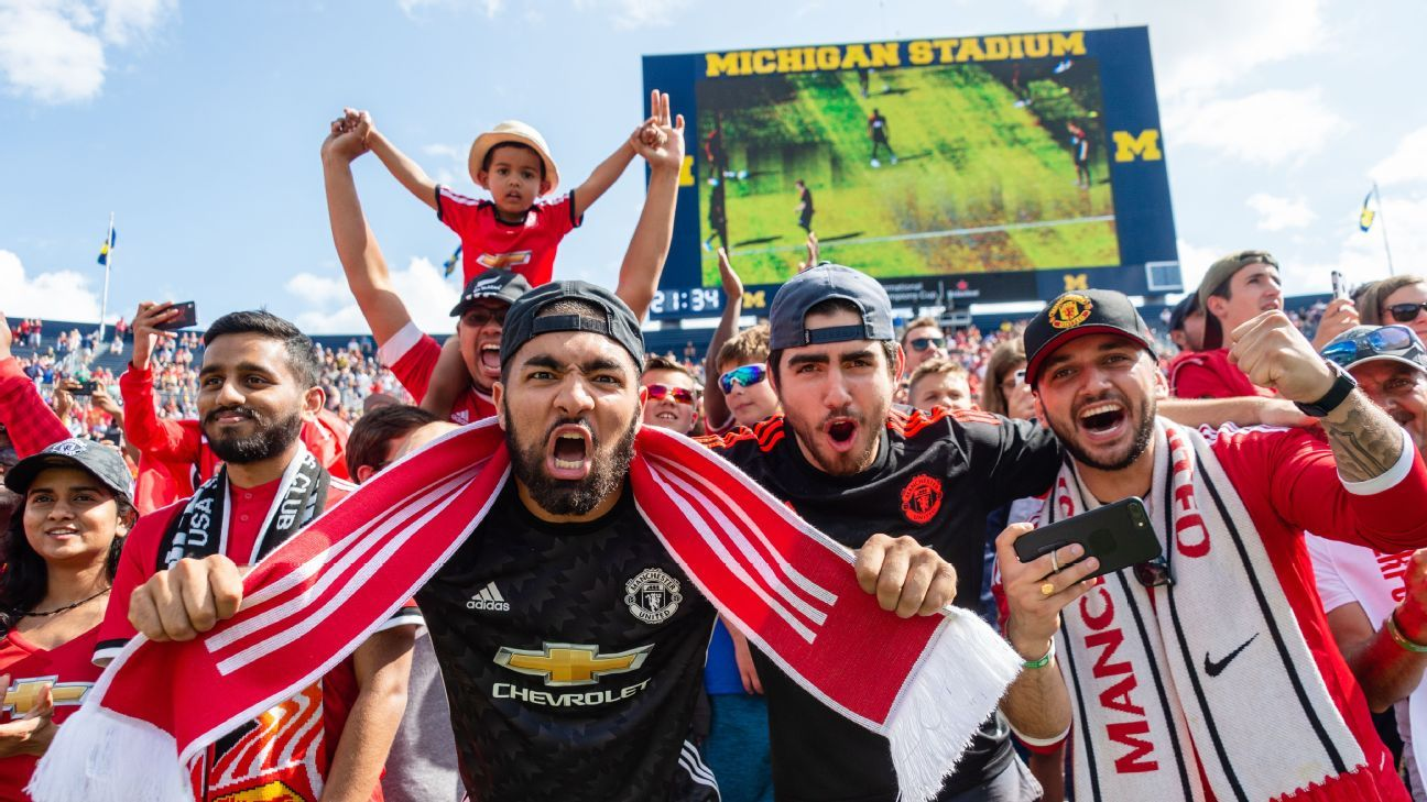 Manchester United took on Liverpool in the 2018 International Champions Cup at the Michigan Stadium