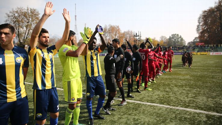 More than 10,000 turned up to watch Real Kashmir make their I-League first-division home debut in Srinagar on Tuesday.