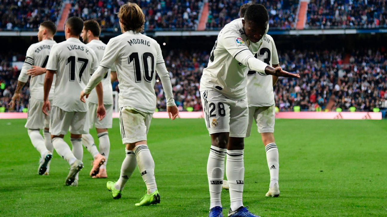 Real Madrid 7 3 Getafe 5 Talking Points: Real Madrid's Vinicius Junior 'transmits Joy' With His
