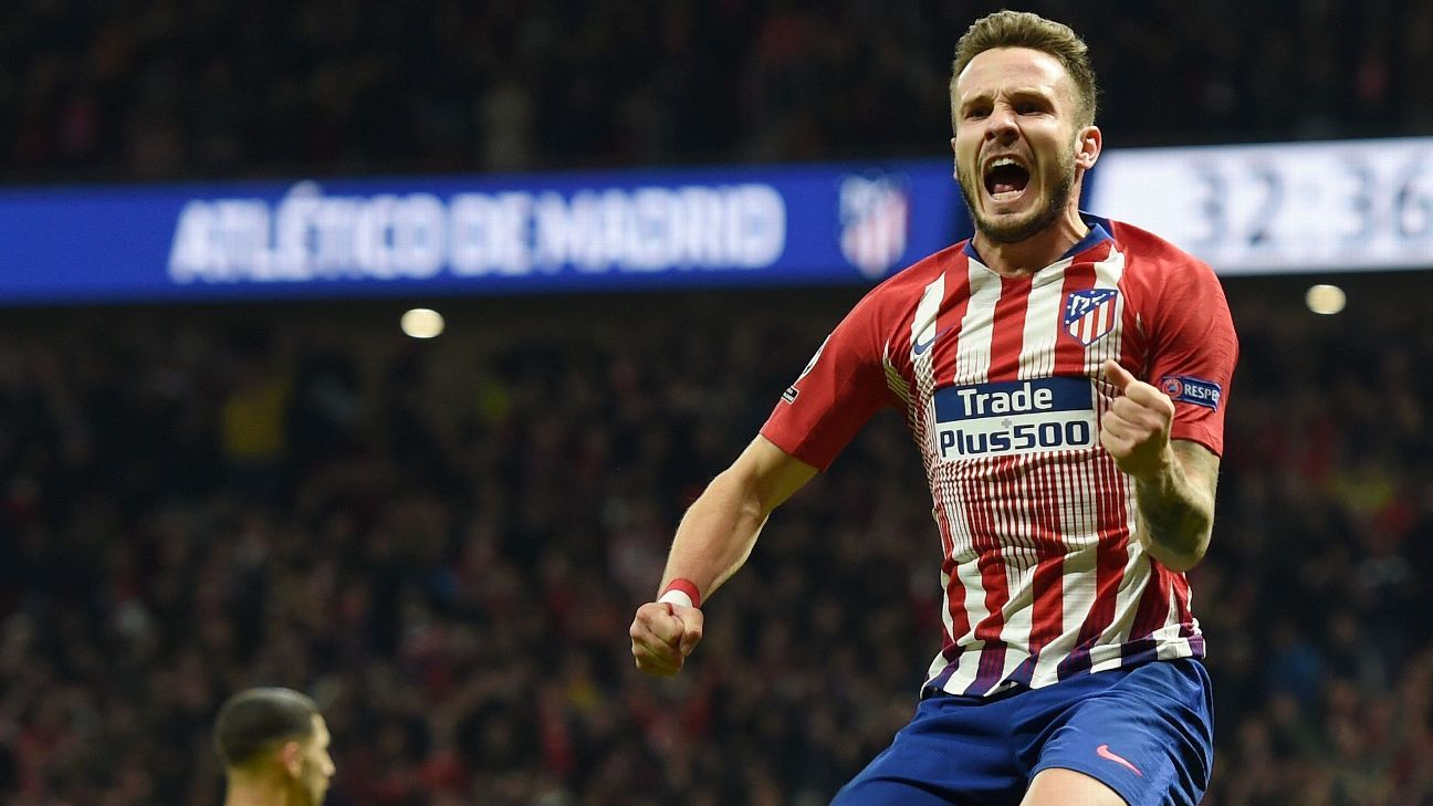 Saul Niguez again delivered on the big stage, scoring his ninth career Champions League goal.