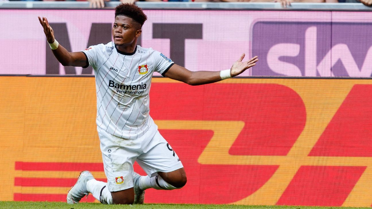 Leon Bailey has been linked with a move away from Bayer Leverkusen.