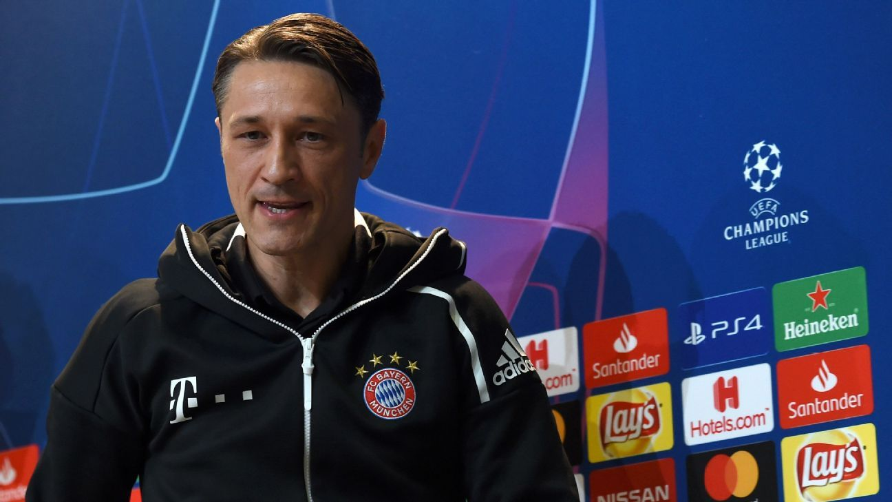 Niko Kovac has come under pressure at Bayern Munich this season.