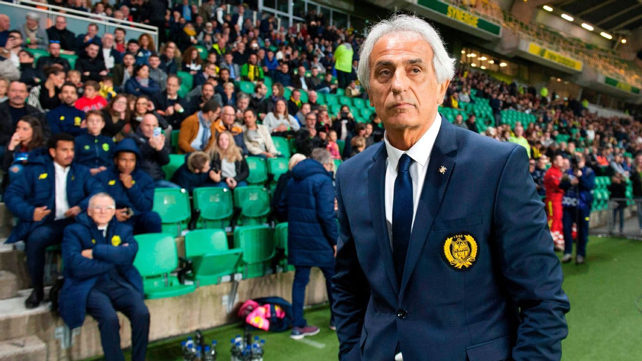 Vahid Halilhodzic starred as a striker for Nantes in the 1980s, and now is leading their revival as manager.