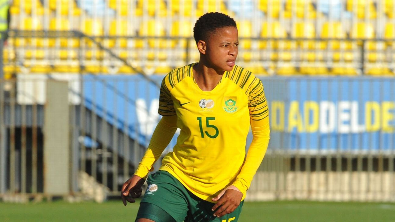Refiloe Jane has played at two Olympics for South Africa, and is eager to go to a first World Cup.