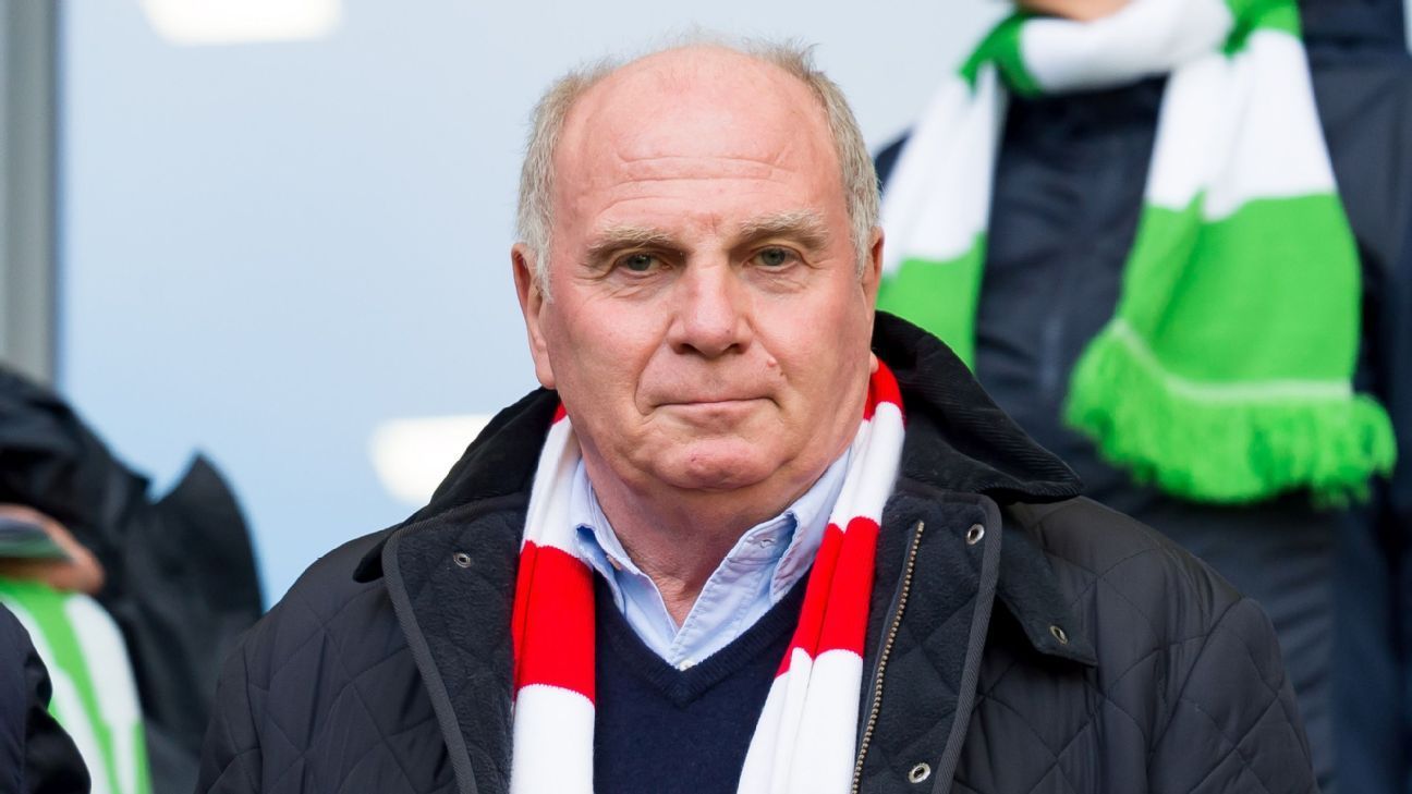 Uli Hoeness is not confident in Bayern Munich's ability to win the Bundesliga this season.