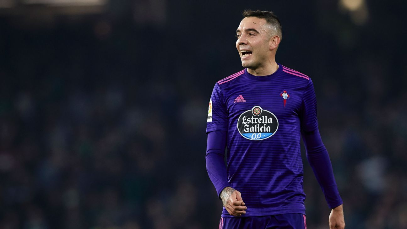 Iago Aspas has been a regular goalscorer for Celta Vigo.