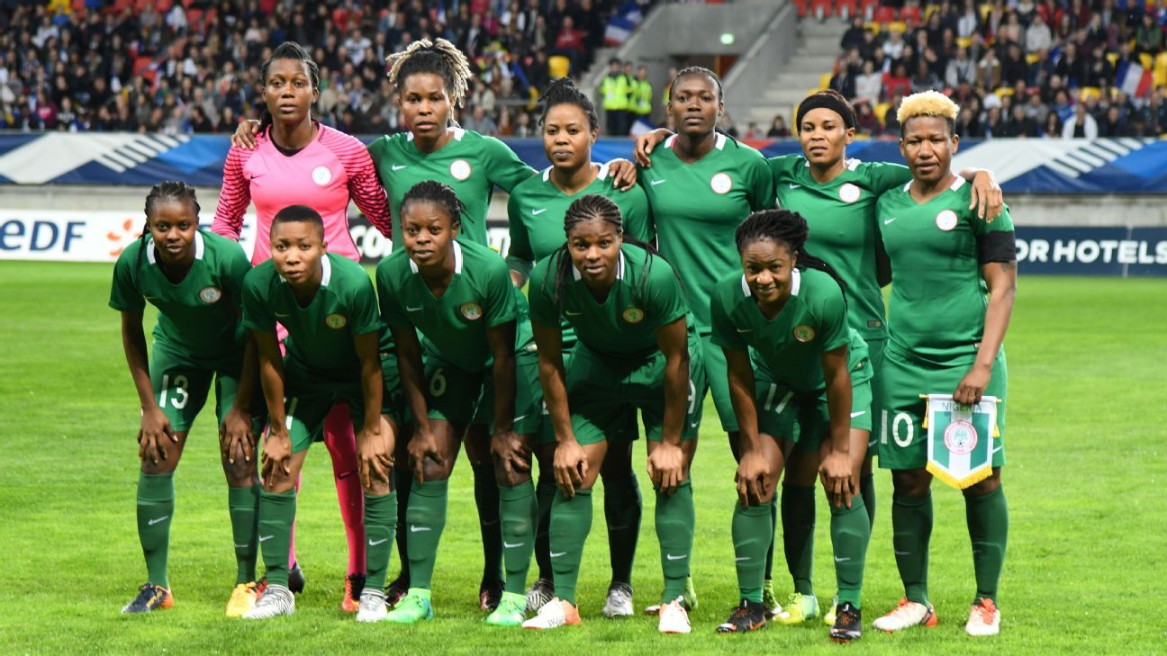 Nigeria's Super Falcons faced France in a friendly in April this year, their only match since December 2016.