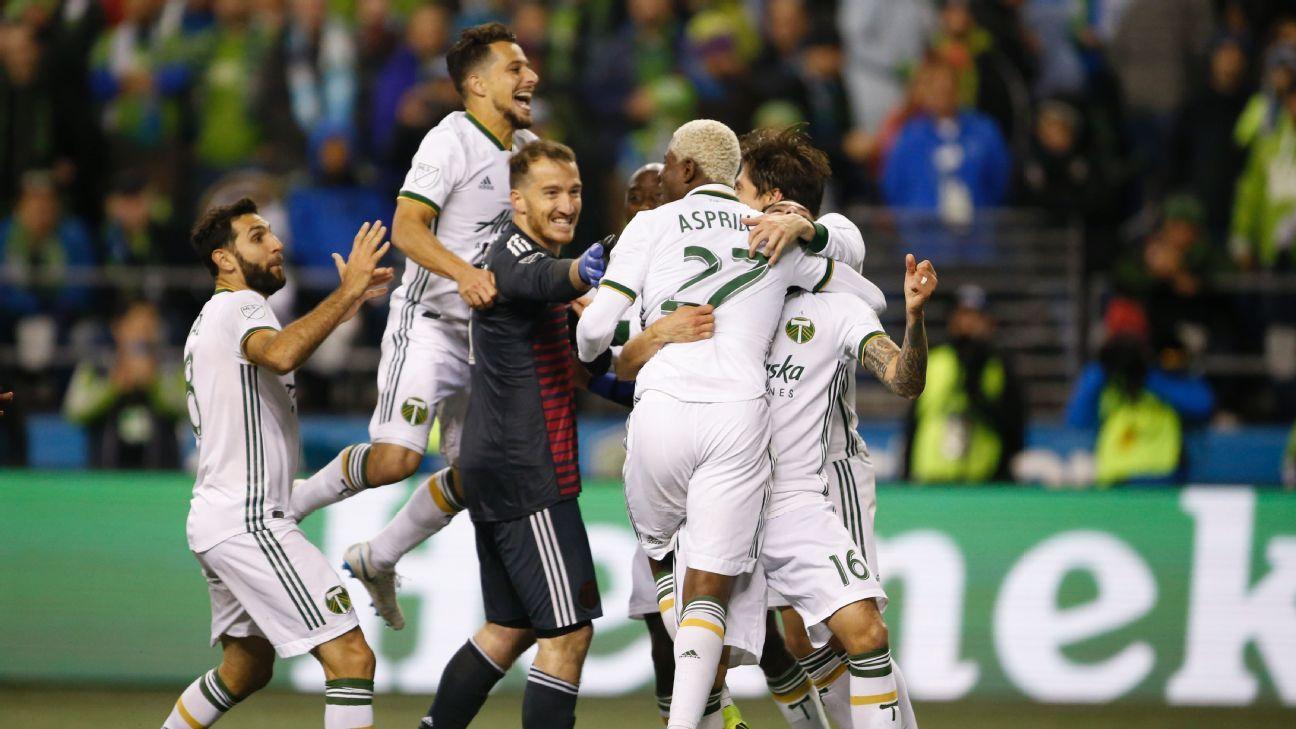 Portland's instant-classic win over Seattle epitomizes unpredictable conference semifinals