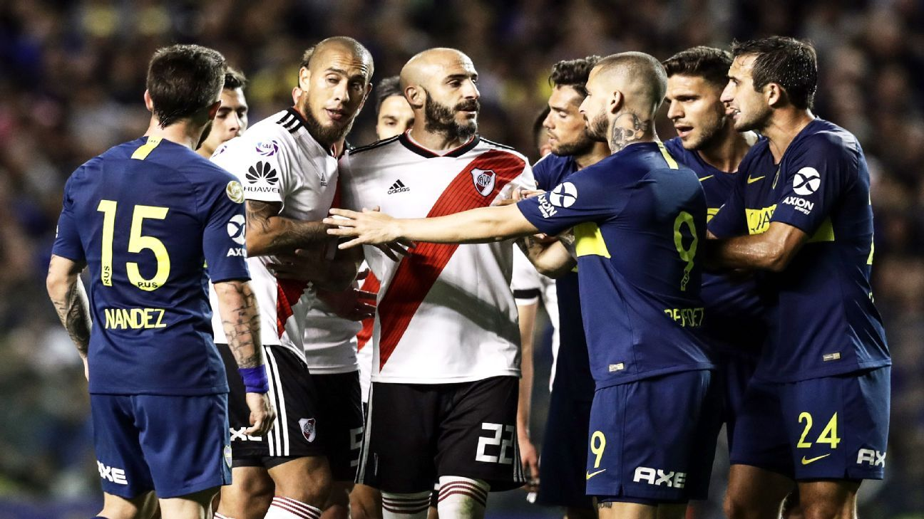 The players may change but the hatred stays the same every time Boca and River meet in the Superclasico.