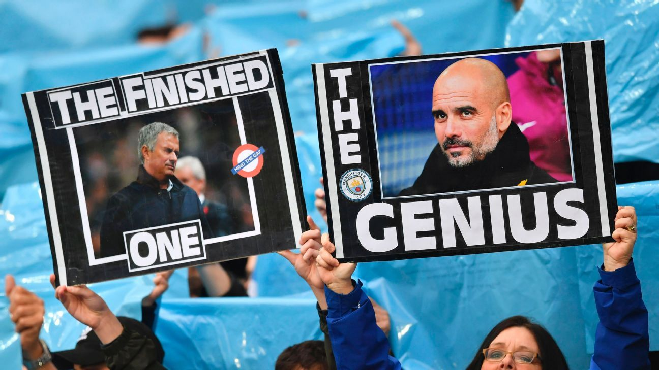 Man City fans may be dreaming of the Champions League but they also enjoy their new-found superiority over Man United.