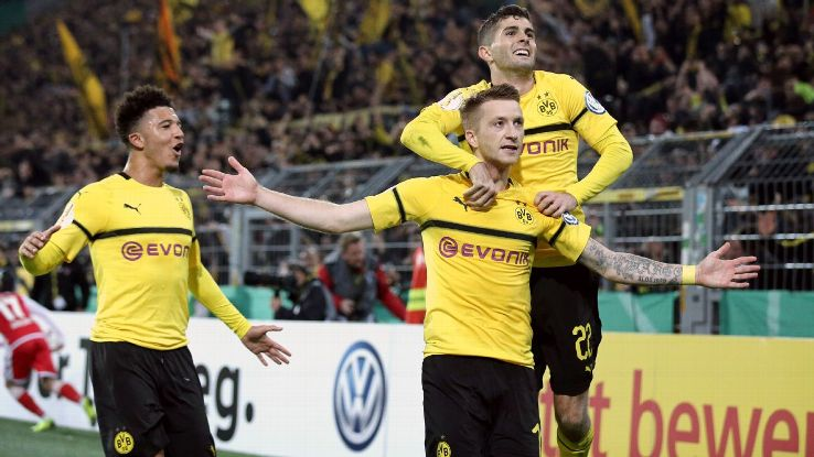 Dortmund are four points clear of Bayern atop the Bundesliga heading into Saturday's clash. Extending that could prove too much for Bayern at this point.
