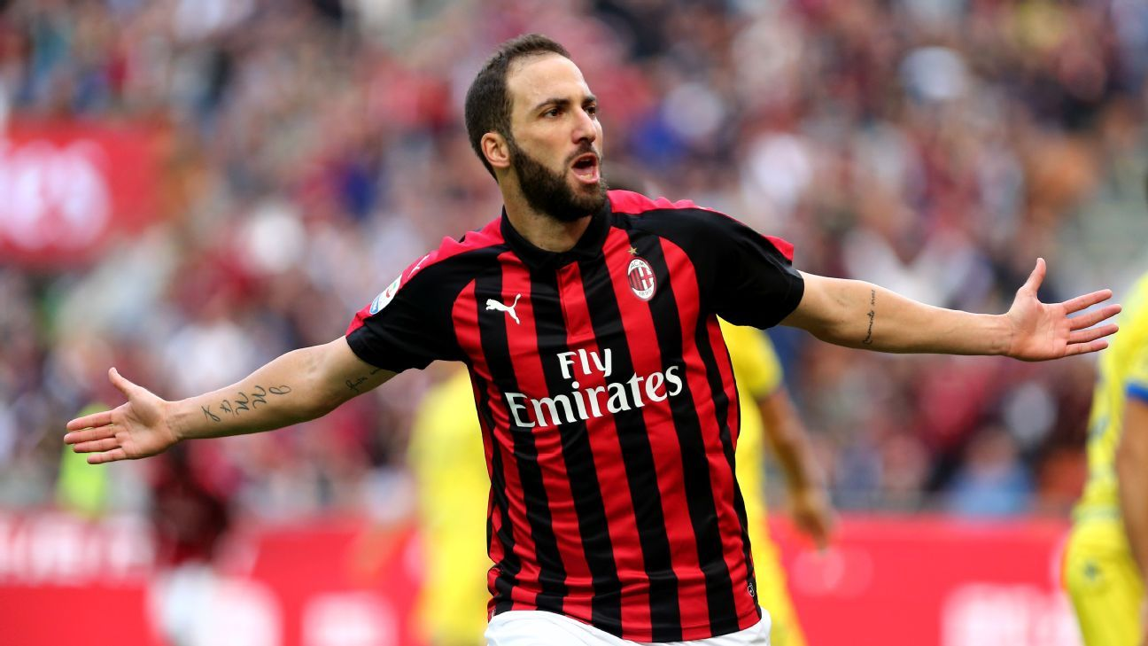 Higuain was great for Juventus but they still let him join Milan. He'll be inspired to get revenge on Sunday at the San Siro.