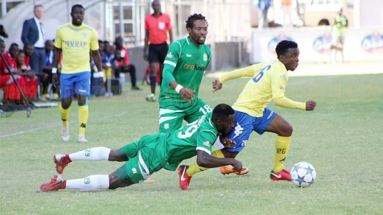 Tatenda Tumba of Harare City in action