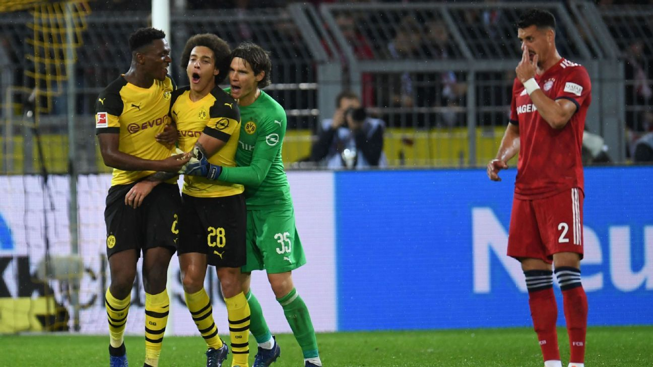 Borussia Dortmund beat rivals Bayern Munich in a Klassiker match that lived up the hype.