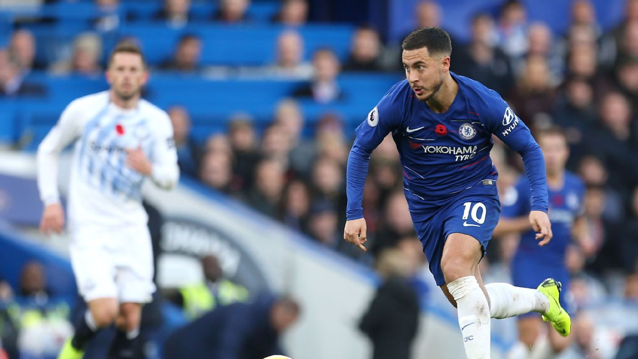 Against Everton, Eden Hazard showed he is close to being back to full strength for Chelsea.