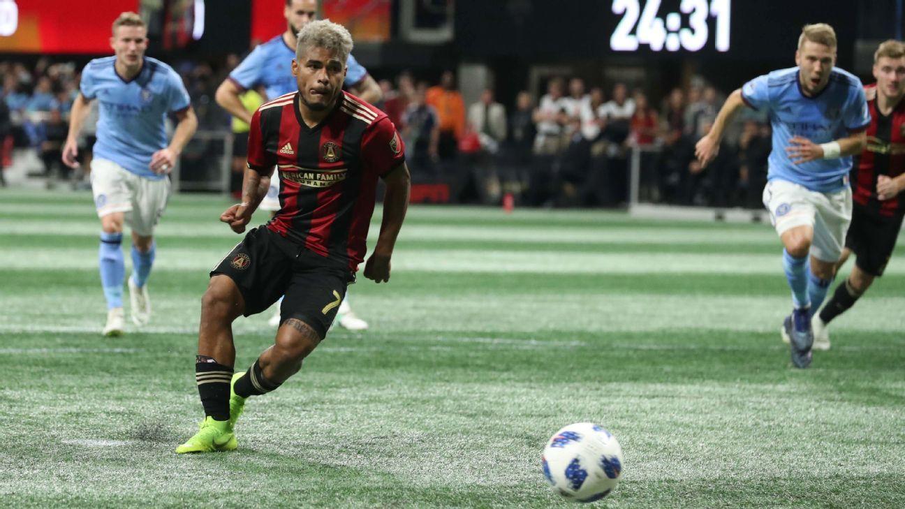 Josef Martinez brace powers Atlanta past New York City FC, into Eastern Conference final