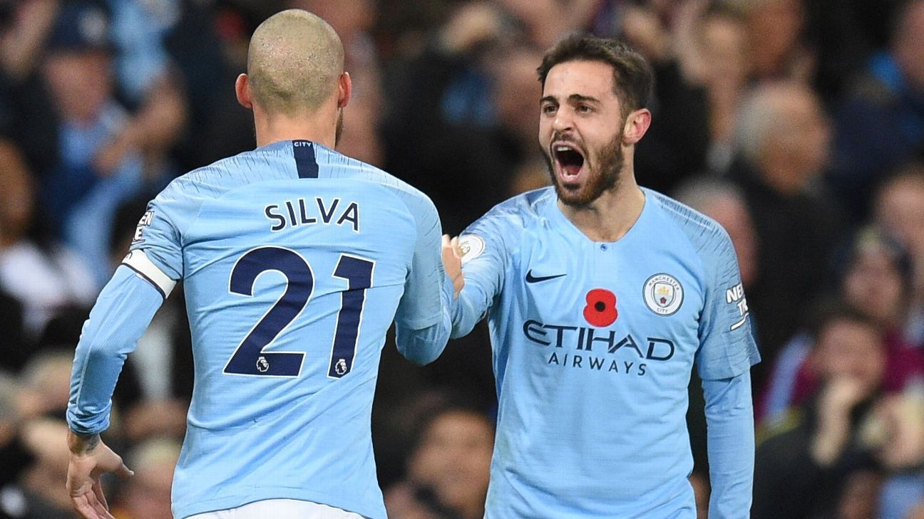 David Silva and Bernardo Silva impressed in Manchester City's derby win over United