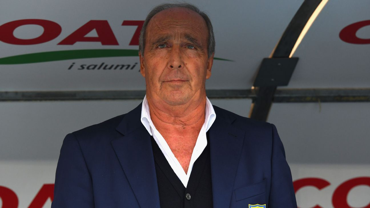 Gian Piero Ventura has handed in his resignation at Chievo