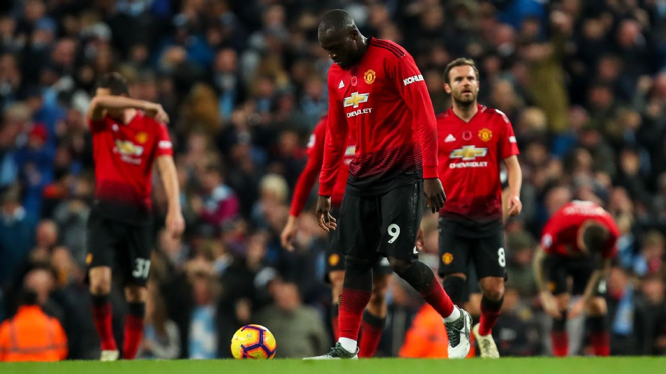 Man United just succumbed to Man City in the final minutes of Sunday's derby, allowing nearly two minutes of uninterrupted possession before the critical third goal.