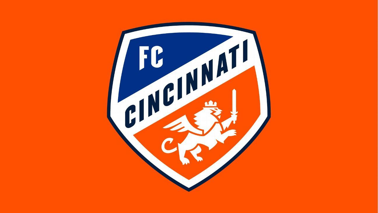 FC Cincinnati unveiled its crest ahead of its inaugural season in Major League Soccer.