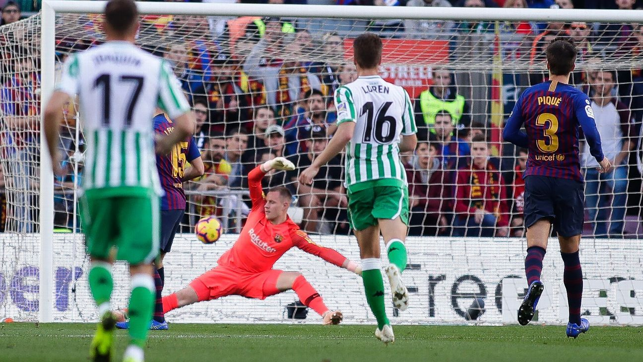 Marc-Andre ter Stegen was poor between the posts for Barcelona, something that didn't help their comeback attempts from 2-0 and 3-1 down.