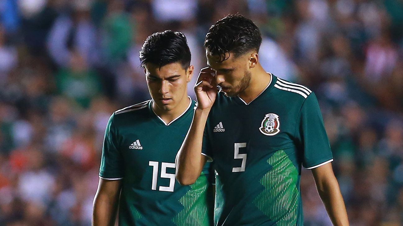 Diego Reyes and Erick Gutierrez are among a core of Mexico players with World Cup experience who will travel for two friendlies against Argentina.