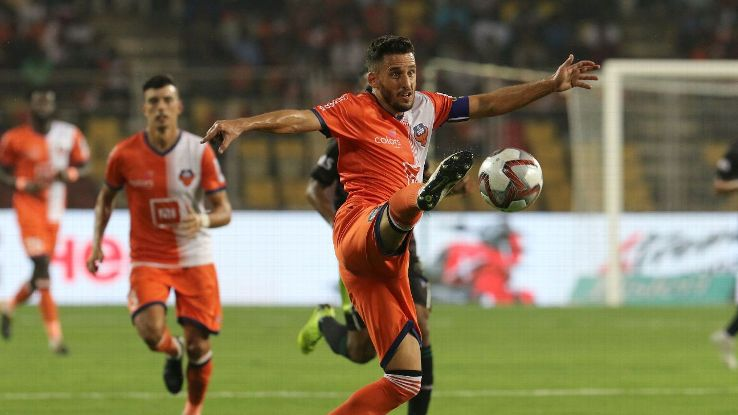 Ferran Coromoinas has already scored eight goals in ISL 5.