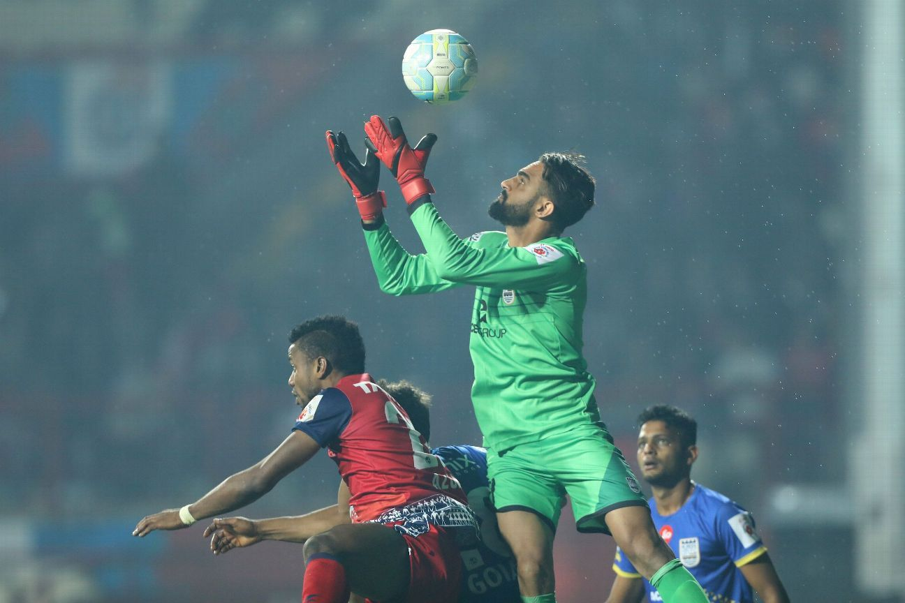 Amrinder Singh has been Mumbai City's best player over the last fortnight.