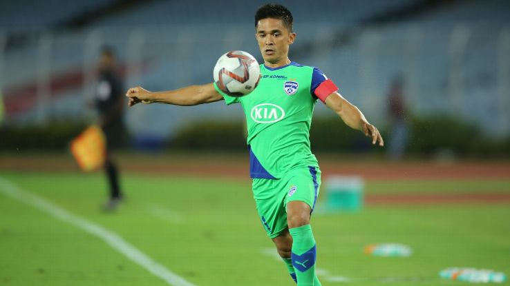 Sunil Chhetri is back at his best for Bengaluru again.