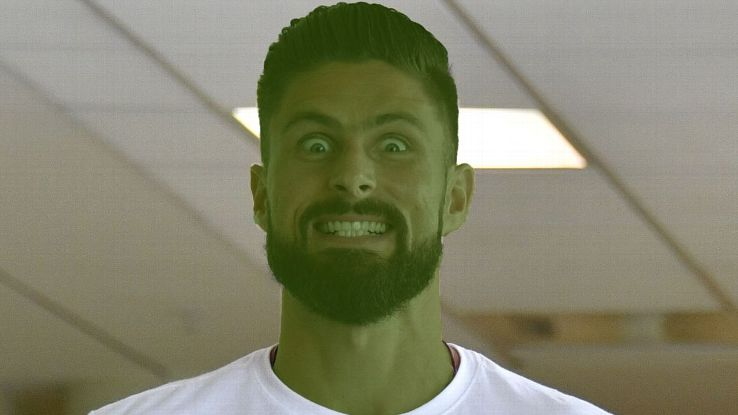 Olivier Giroud plays the Green Goblin in the French-dubbed version of upcoming animation 'Spider-Man: New Generation'