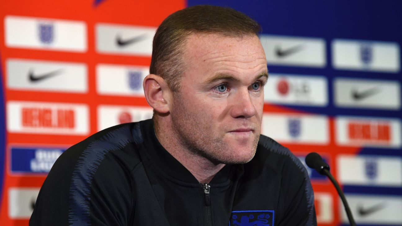 Wayne Rooney returned to the England squad after a two-year absence for his farewell match
