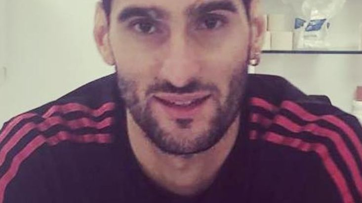 Marouane Fellaini revealed his new haircut on Instagram