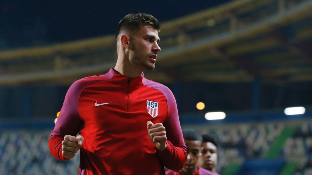 Matt Miazga has hit a rough patch but is staying positive and focused on continuing to working hard.