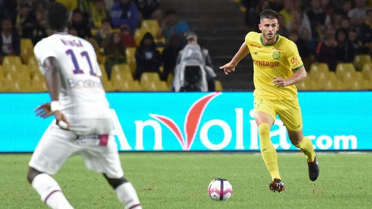 Matt Miazga started the season as a starter at Nantes but has found playing time scarce under new manager Vahid Halilhodzic.