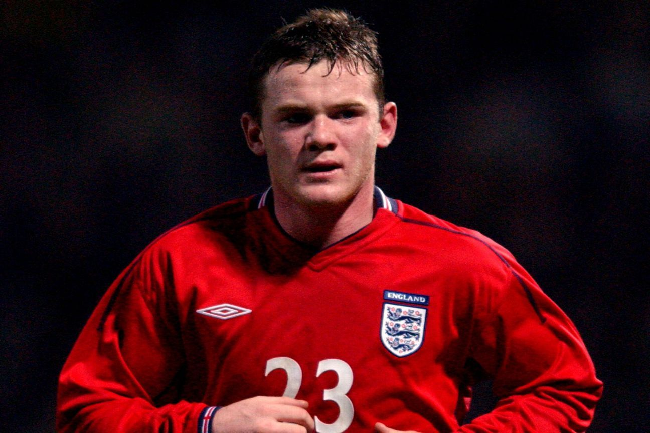 Wayne Rooney made his England debut against Australia in 2003 at the age of 17 years and 111 days old