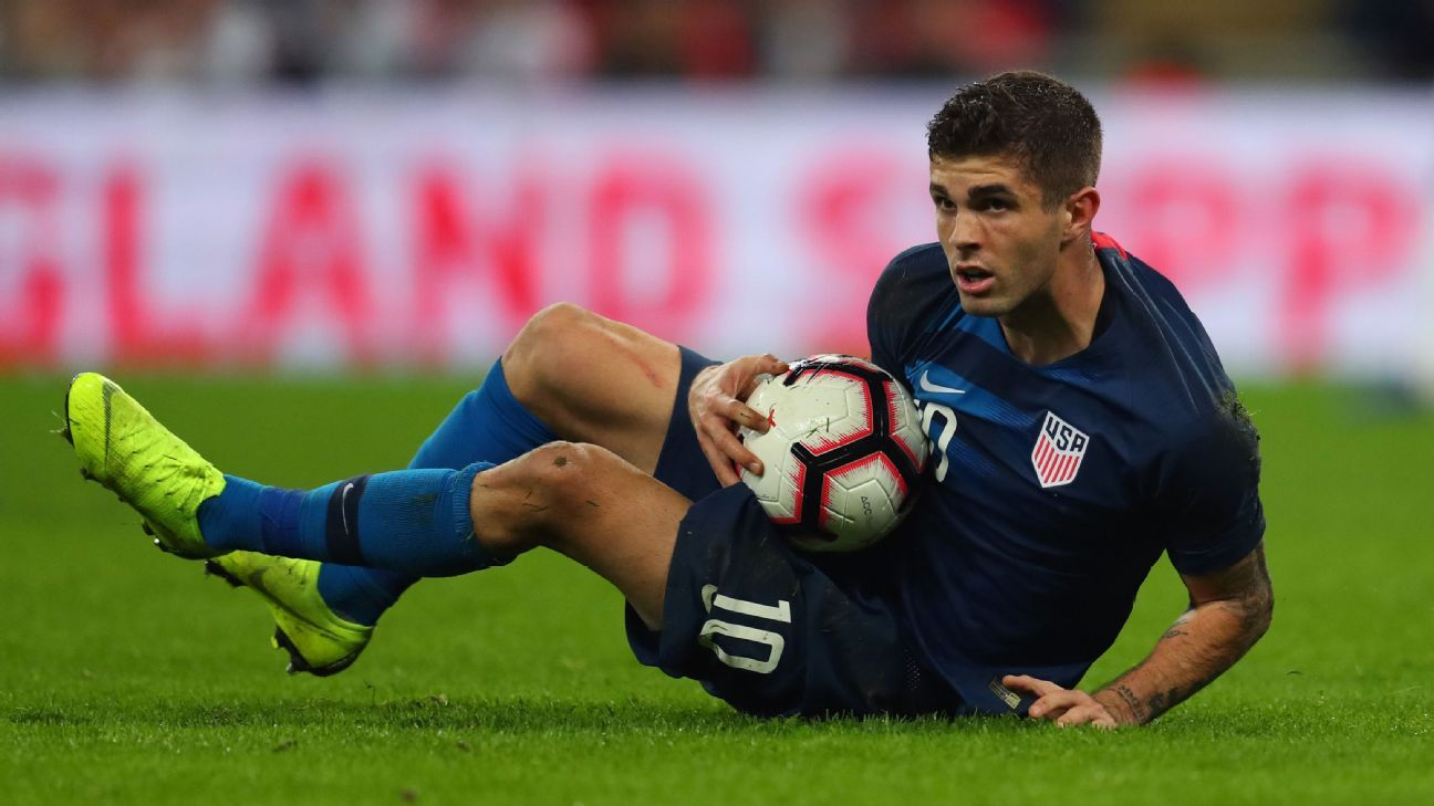 United States attacker Christian Pulisic was left frustrated after a friendly loss to England.
