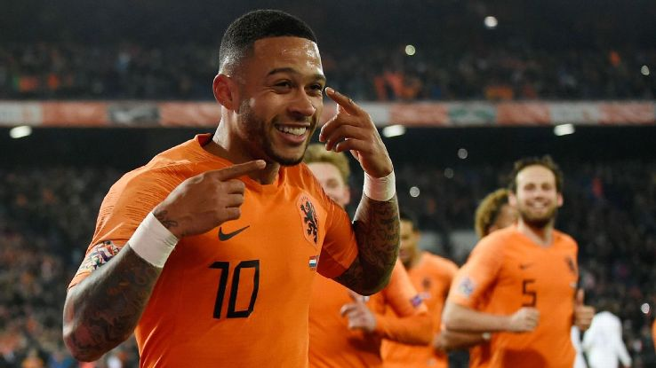 Memphis Depay and the Netherlands are experiencing a rebirth under Ronald Koeman.