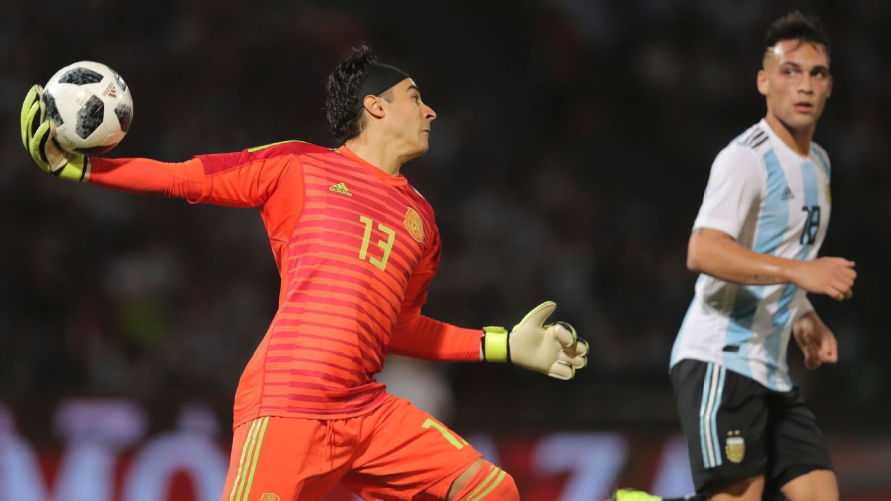 Guillermo Ochoa was one of the few bright spots for Mexico in the 2-0 loss to Argentina on Friday night.