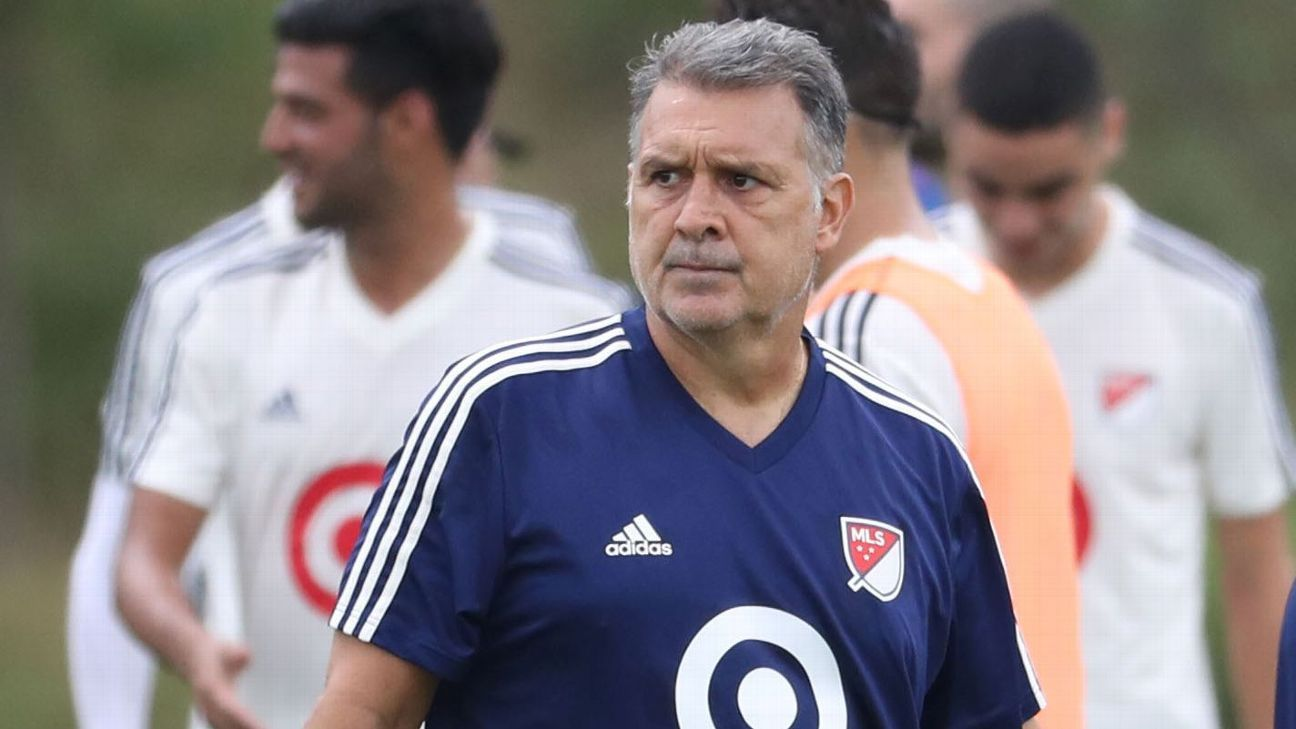 Before joining Atlanta United, Gerardo Martino had stints with Barcelona, the Paraguay national team, and the Argentina national team.