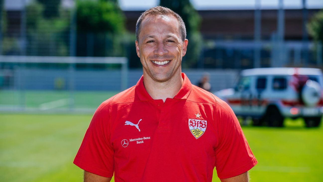 Steve Cherundolo served as VfB Stuttgart's assistant coach during the 2018-19 season.