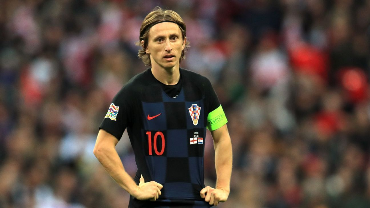 Luka Modric and Croatia suffered a 2-1 loss to England in the UEFA Nations League on Sunday.