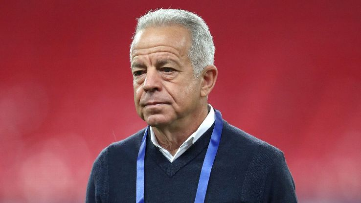 United States interim manager Dave Sarachan before the International friendly at Wembley