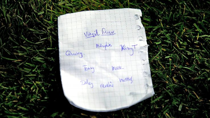 Ronald Koeman's tactical note