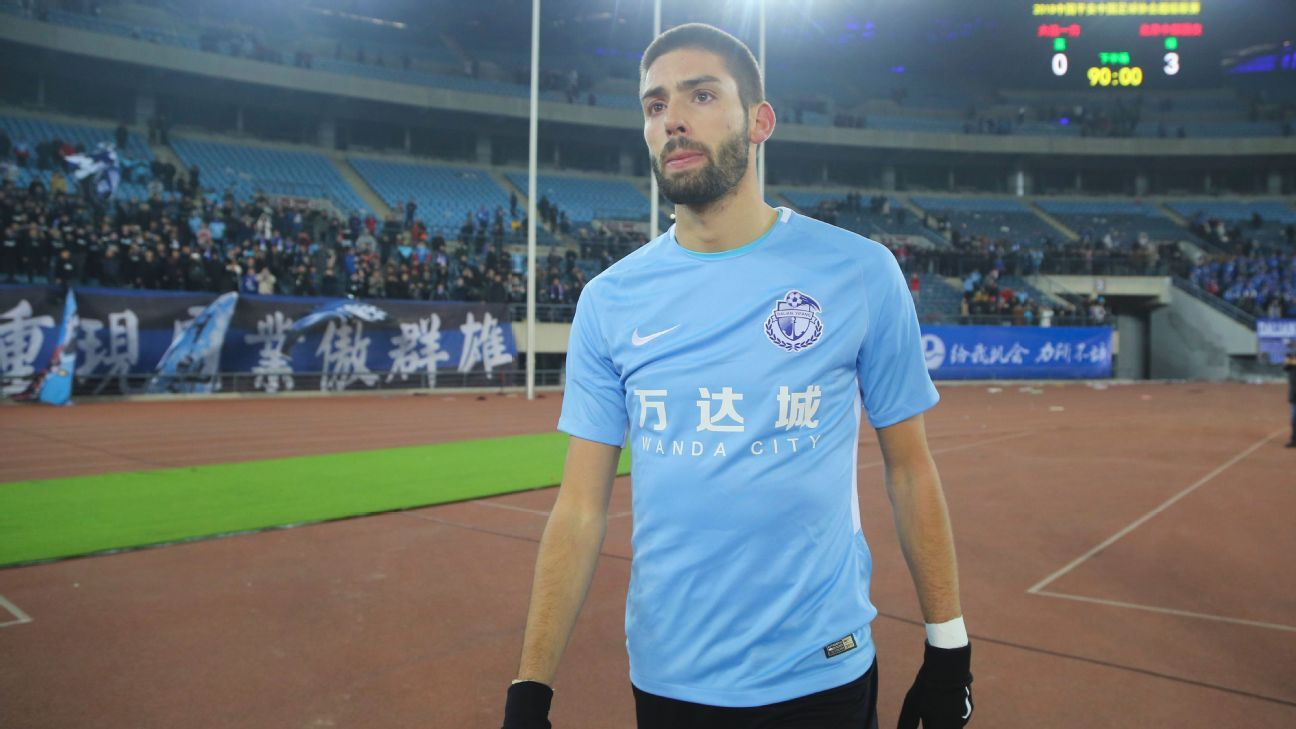 Dalian Yifang winger Yannick Carrasco offered a teammate €10,000 after allegedly breaking his nose