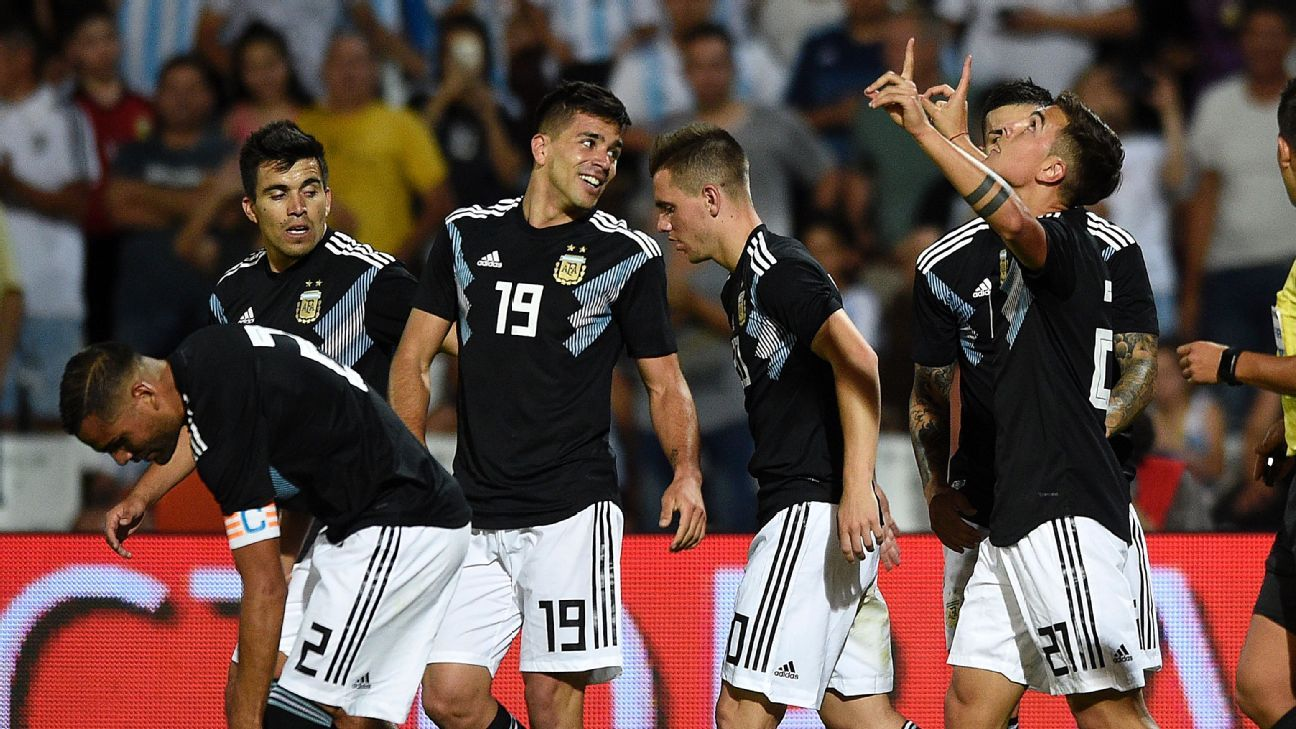 Argentina seem reborn as Lionel Scaloni looks to new generation