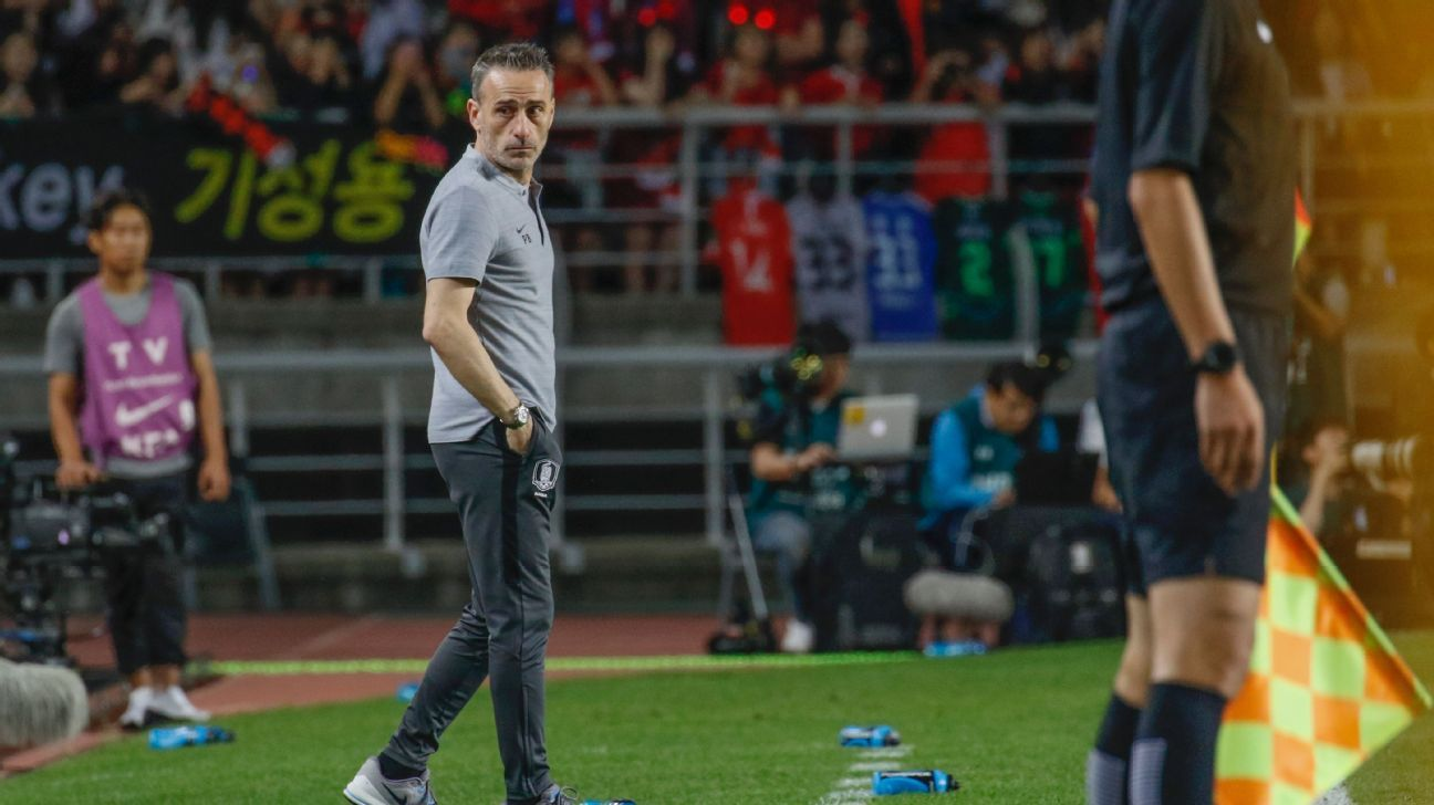 Asian Cup favourites South Korea 'on the right path' - Paulo Bento
