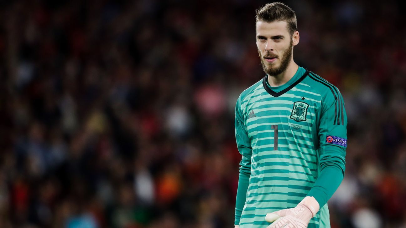 David De Gea has regularly been criticised for his performances in a Spain shirt.