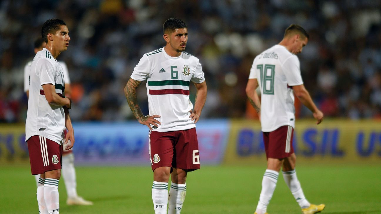 Mexico have some talented young players but two defeats in Argentina were a real reality check in terms of expectations.