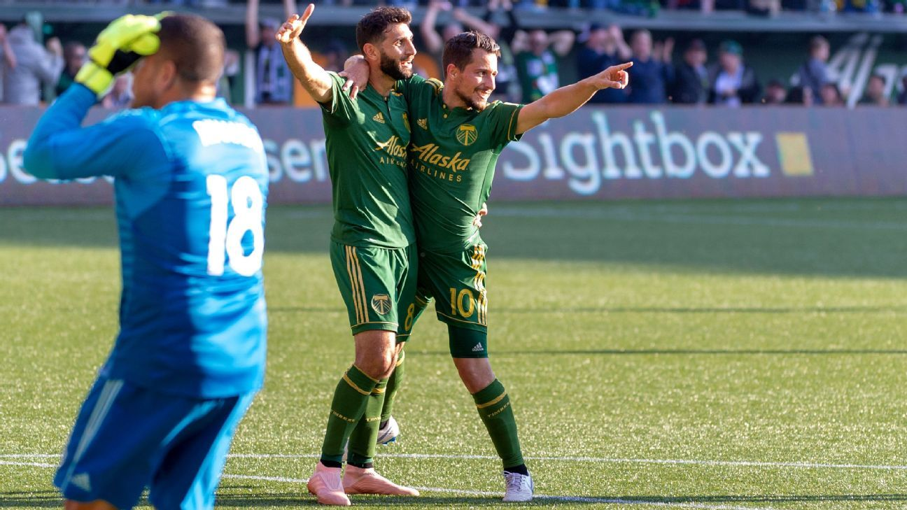 It's been a long way from the Buenos Aires suburb of Lanus to Portland for Timbers teammates Diego Valeri and Sebastian Blanco.